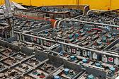 Many power supplies — Stock Photo
