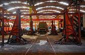 станция ремонт транспортных средств — Стоковое фото