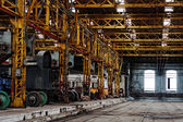 Industrial building interior — Foto de Stock