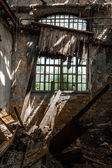 Abandoned industrial interior — Foto Stock