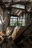 заброшенных промышленных интерьер — Стоковое фото