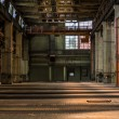 Dark industrial interior — Stock Photo #35757179