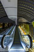 Modern metro interior — ストック写真