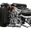 Stock Photo: Turbo car engine
