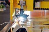 机器易切削钢 — 图库照片
