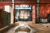 Abandoned industrial interior — Stock fotografie