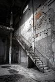 Terk edilmiş endüstriyel iç — Stok fotoğraf