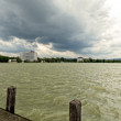 Storm over the lake — Stock Photo #47373257