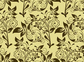 无缝的花卉图案矢量 — 图库矢量图片