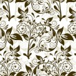 Royalty-Free Stock Vector Image: Seamless floral pattern, vector