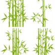 Vector de stock : Bamboo, vector (mesh)
