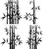 Bamboo, vector — Stock Vector
