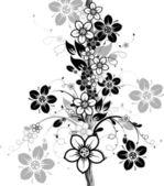 Astratto floreale, vettoriale — Vettoriale Stock