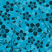 Decorative floral pattern, vector — Wektor stockowy