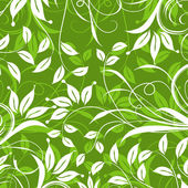 Decorative floral pattern, vector — Stock Vector