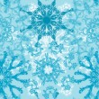 Stock Vector: Seamless snowflakes pattern, vector