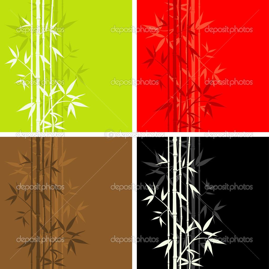 Seamless Bamboo Pattern Bamboo Pattern Seamless