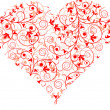 Valentines Day, heart, background, vector — 图库矢量图片