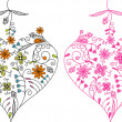 Royalty-Free Stock Imagen vectorial: Valentines Day, heart, background, vector