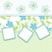 Template cards for the boy, vector — Stock Vector