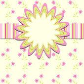 Tarjetas de plantilla para la muchacha, vector, eps10 — Vector de stock