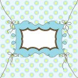 Template cards for the boy, vector - Stock Vector