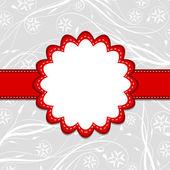 グリーティング カードのテンプレート、ベクトル — ストックベクタ