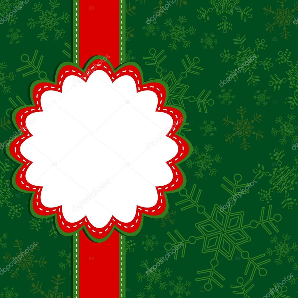 Template christmas greeting card vector stock vector 169 tolchik
