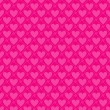 Seamless valentine pattern, vector - Stock Vector