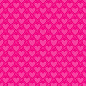 Seamless valentine pattern, vector — Vetorial Stock