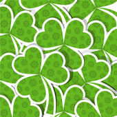 Template St. Patrick's day pattern, vector — Stock Vector