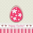 Template Easter greeting card, vector — Stock Vector #41878925