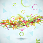 Vector abstract background, — Stock fotografie