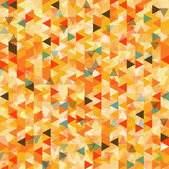Triangle abstract background, vector — Vector de stock