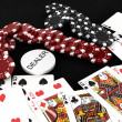 Casino gambling chips — Stock Photo #22234339