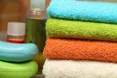 浴工具 — 图库照片