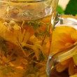 Healing herbal tea — Stock Photo