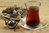 Five o'clock - tea time — Stock Photo