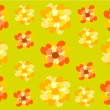 Stock Vector: Flowers backdrop
