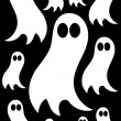 Stock Vector: Ghosts