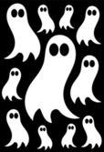 Fantasmas — Vector de stock