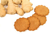 Gingerbread and ginger — Stock Photo