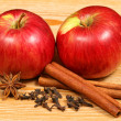 Apples and spices — Stock Photo #22913826