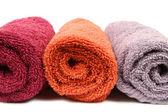 Tři ručníky — Stock fotografie