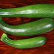 Green zucchini - Stock Photo