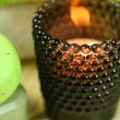Tealight holder in spa — Stock Photo #23017070