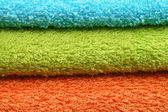 Towels background — Stock Photo