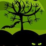 Halloween wildness — Stock Vector