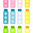 colorful bottles — Stock Vector #23292800