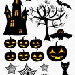 Royalty-Free Stock Vector Image: Halloween elements